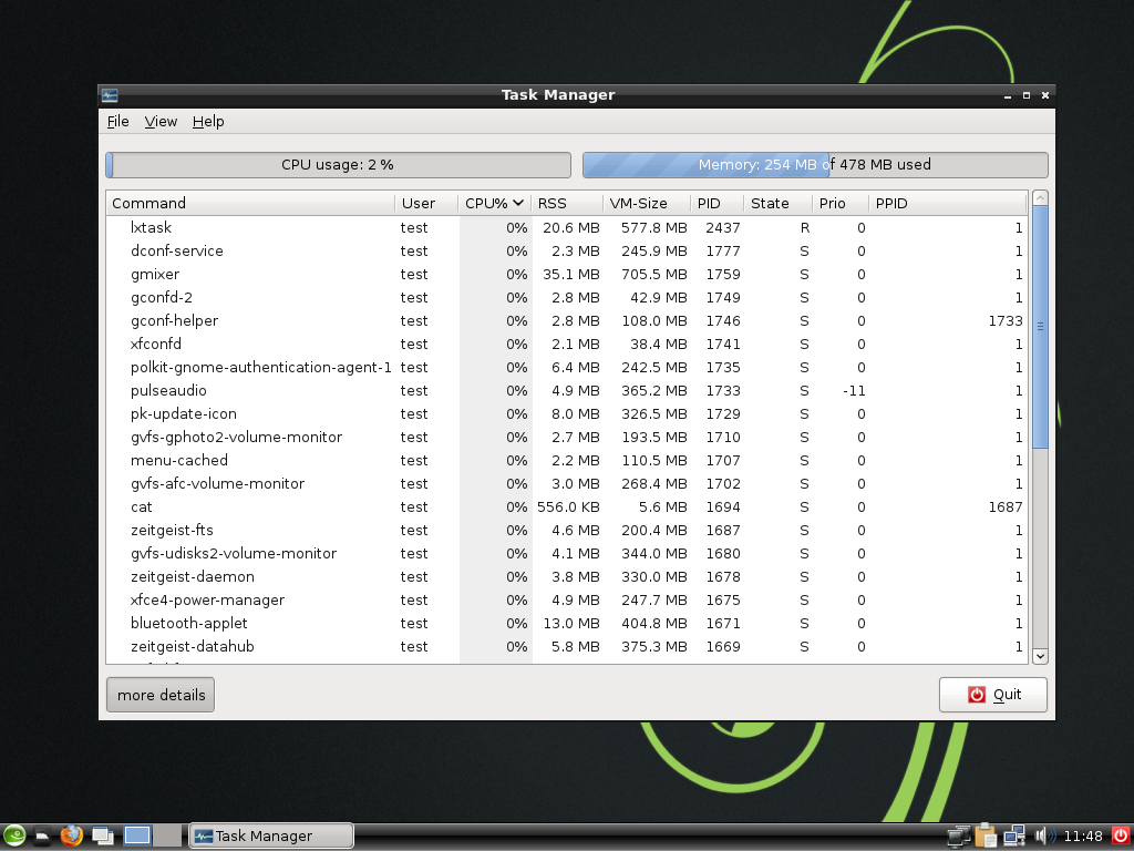 12.3 LXDE taskmanager.png